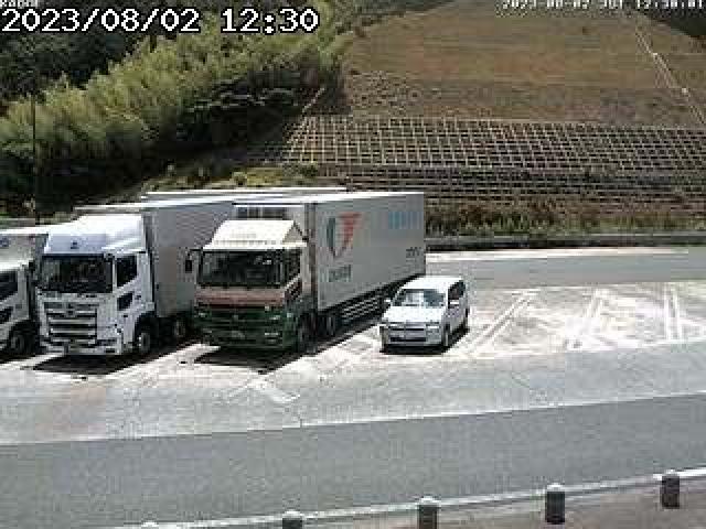 舞鶴若狭自動車道路[小浜市 加斗PA]ライブカメラ