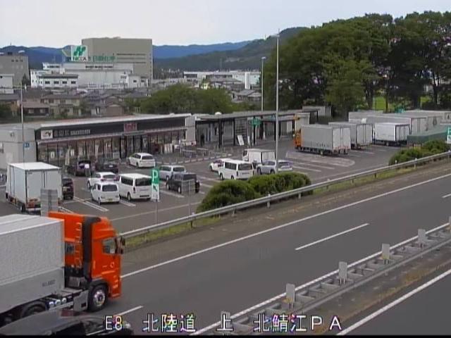 北陸自動車道路[鯖江市 北鯖江PA]ライブカメラ
